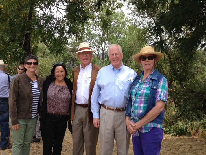 FONR Board members with Congressman Mike Thompson.