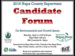 Candidate Forum poster 040416