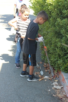 Clean-up around the B&GC neighborhood